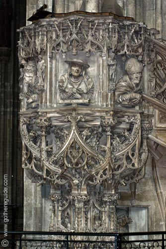 Stephansdom Pulpit Vienna