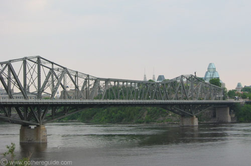 Royal Alexandra Interprovincial Bridge Ottawa