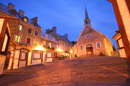 Place Royale Quebec City