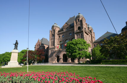 Ontario Legislative Building Queens Park Toronto
