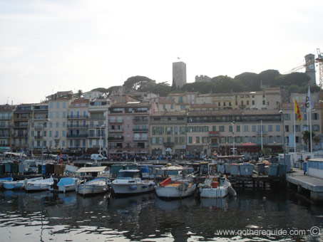 Cannes Castle and Old Port