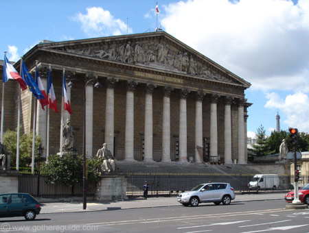 Assemblee Nationale Palais Bourbon Paris