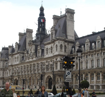 City Hall Hotel de Ville Paris