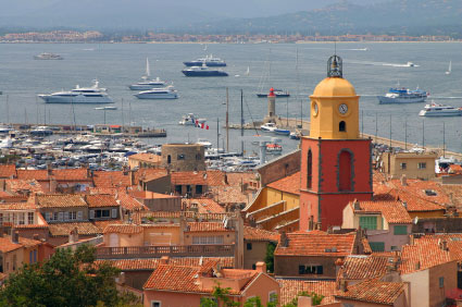 Saint-Tropez-harbour