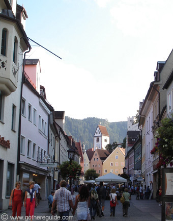 Füssen - city center