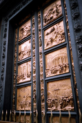 Baptistry Doors Duomo Florence