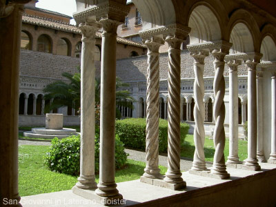 San Giovanni in Laterano cloisters Rome