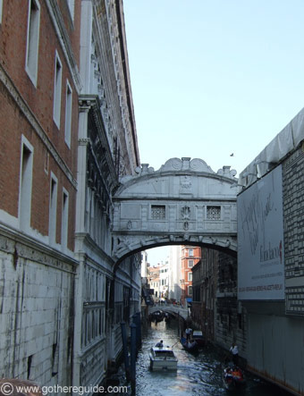 Bridge of Sights Venice Italy