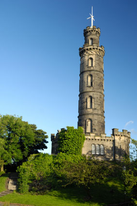 Nelson's Monument Calton Hill Edinburgh