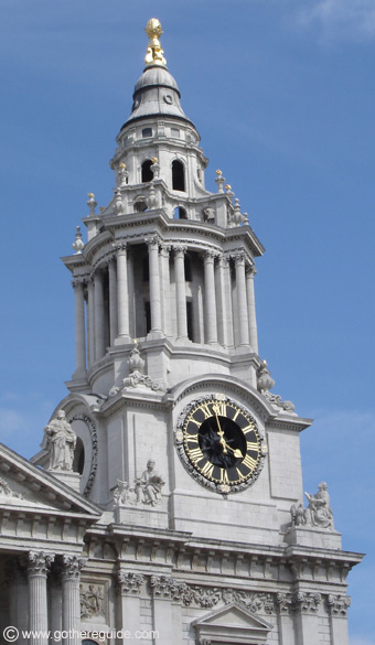 St. Paul's Cathedral Clock Tower London