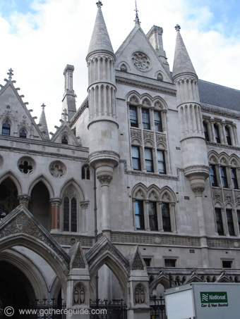Courts of Justice London