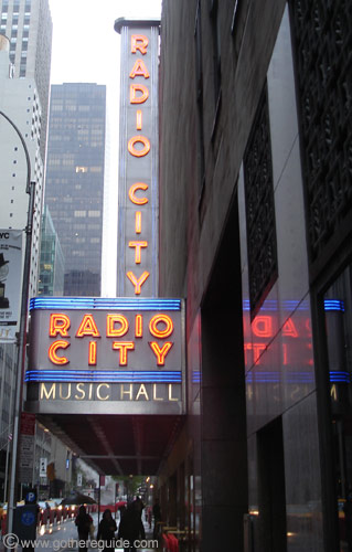 Radio city Music Hall New York