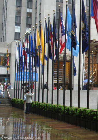 Rockefeller Center Hall New York