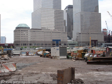 World Trade Center site New York