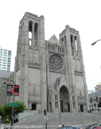 Grace Cathedral Nob Hill San Francisco