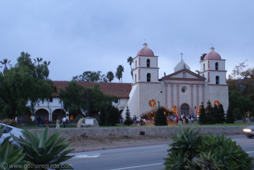 Santa Barbara Mission California