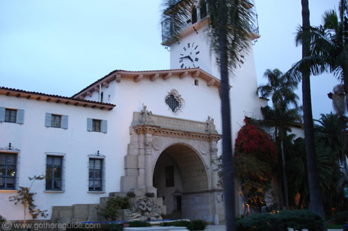 Santa Barbara Courthouse California