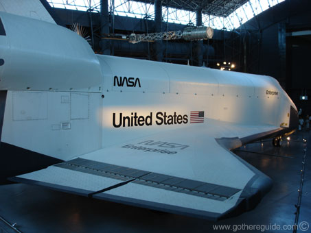 Steven F Udvar-Hazy Center Space Shuttle Enterprise